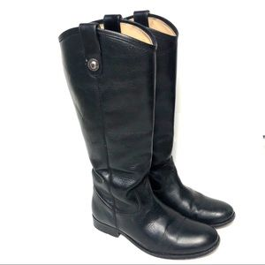 Frye Melissa Button Riding Boot wide calf  77167